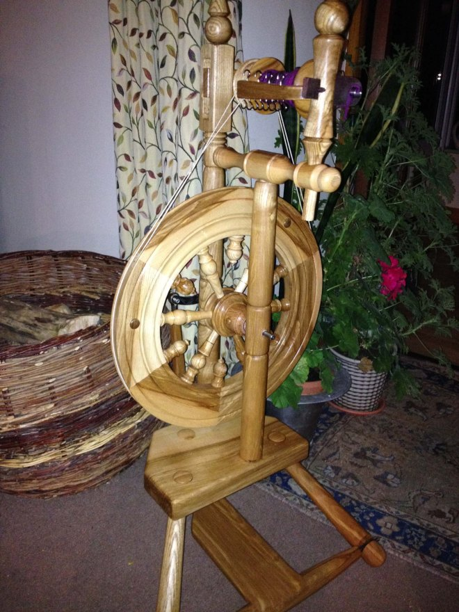 new Innerleithen spinning wheel
