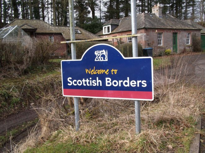 broken Scottish sign