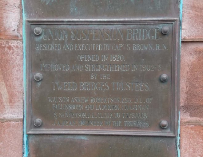 plaque with Captain Brown's name