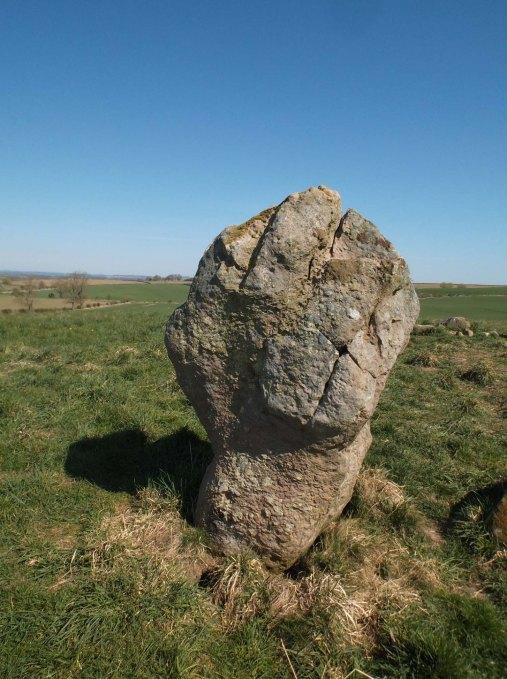 Duddo stone like a fist