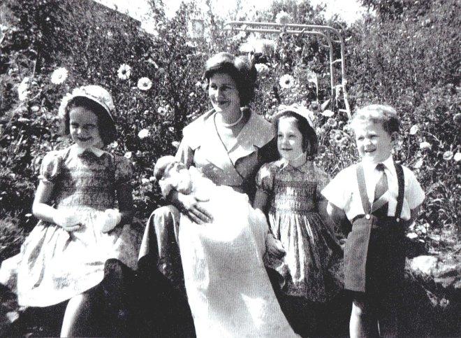 Elizabeth's christening 1961