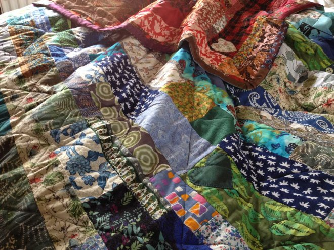 getting all quilty