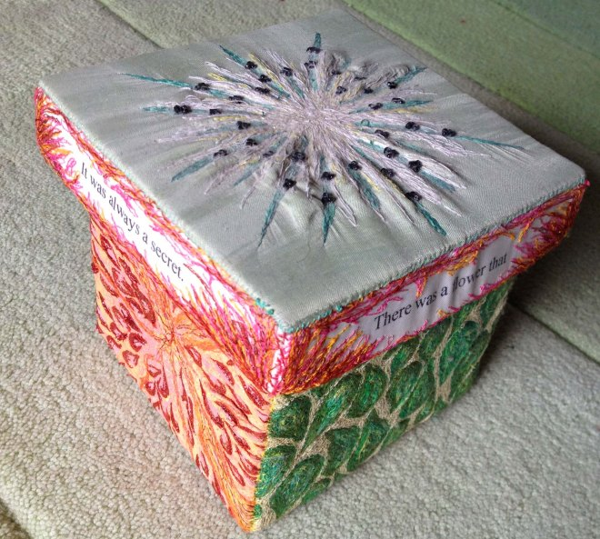 Helen's embroidered box