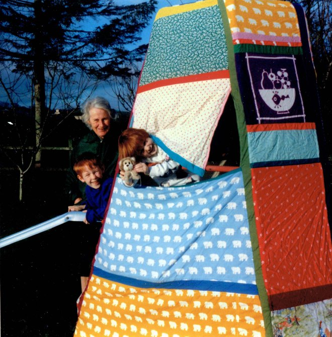 1988 Christmas climbing frame cover