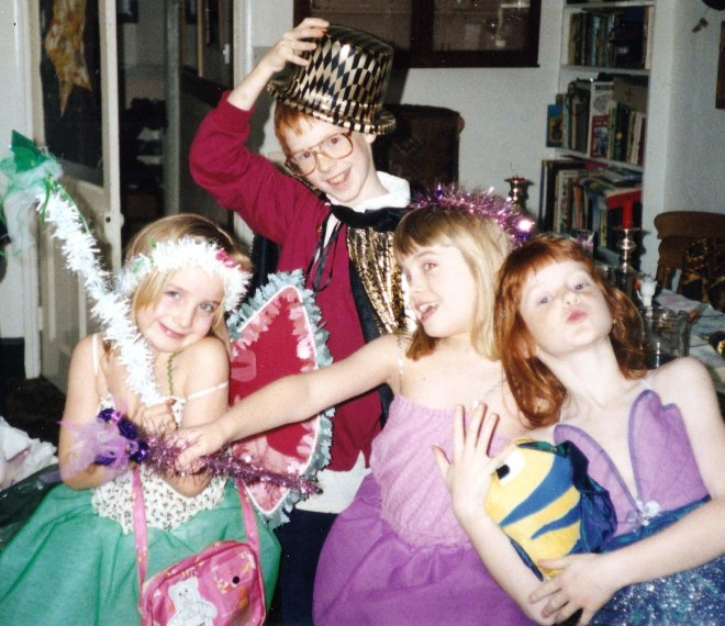 1991 Christmas fancy dress costumes edited