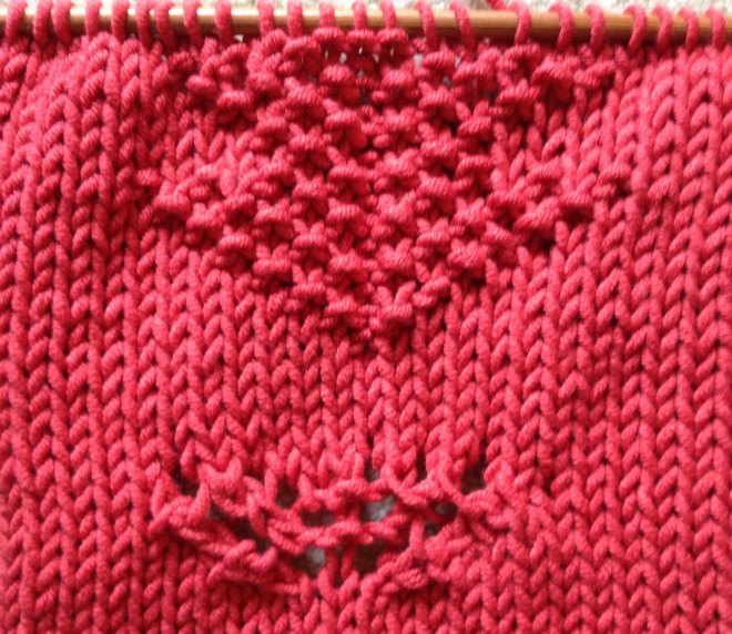 knitting cardi for Maud