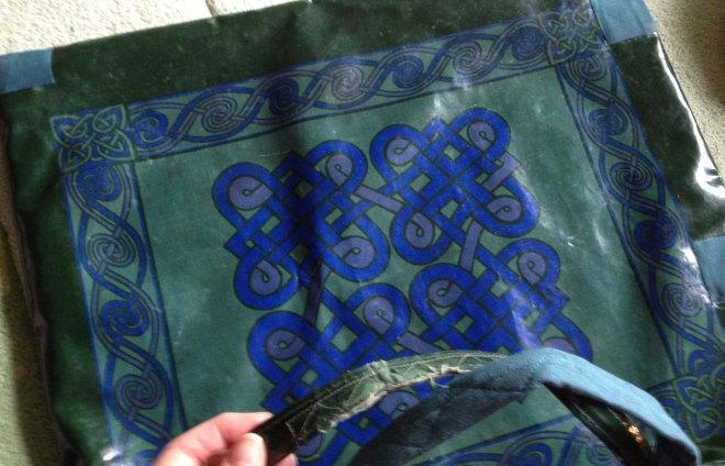 mending RHE's bag
