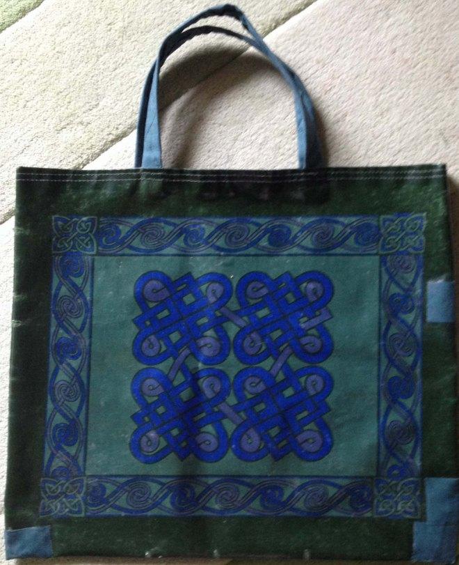 RHE's bag with repairs