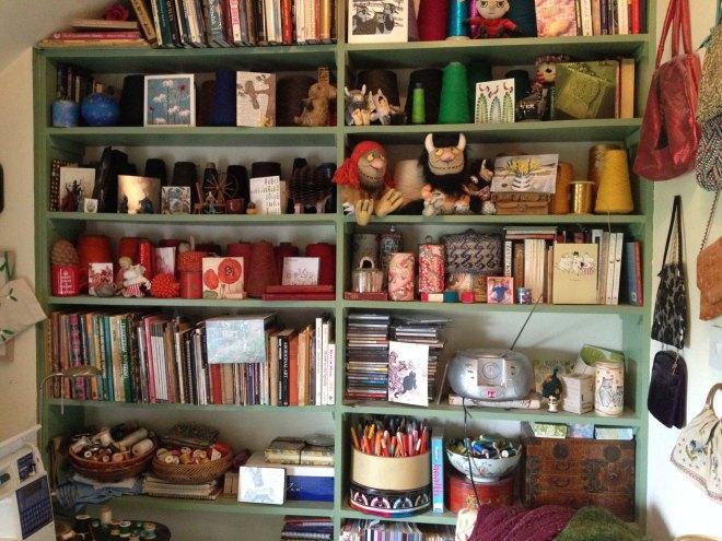 woolly room shelves