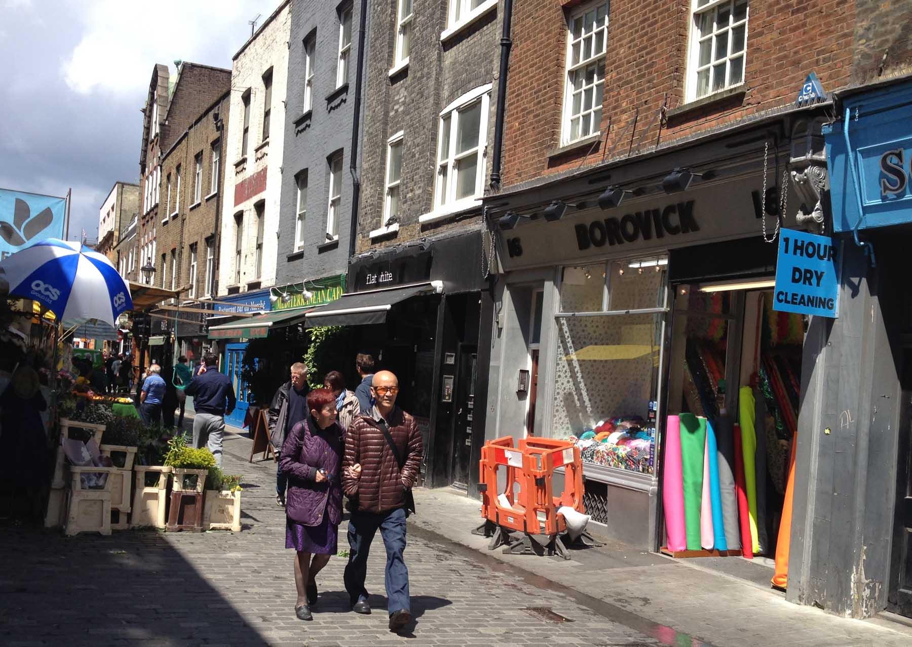 Borovick shop in Berwick St