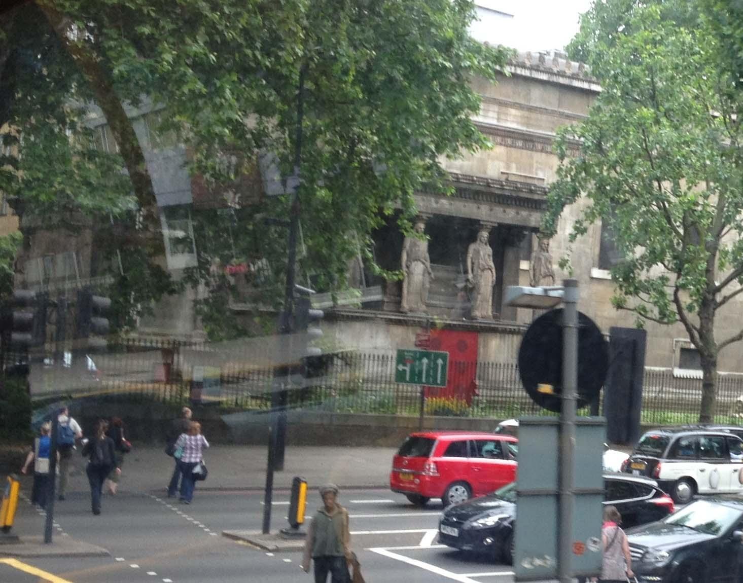 Caryatids on St Pancras New Church