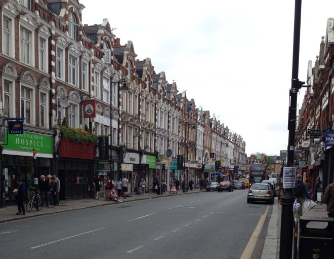Crouch End street