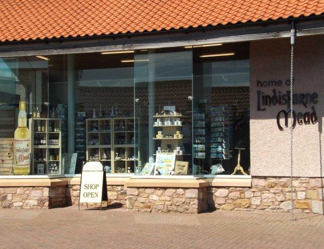 Lindisfarne shops