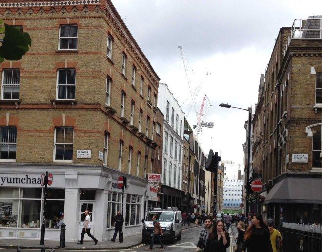 London's Berwick street