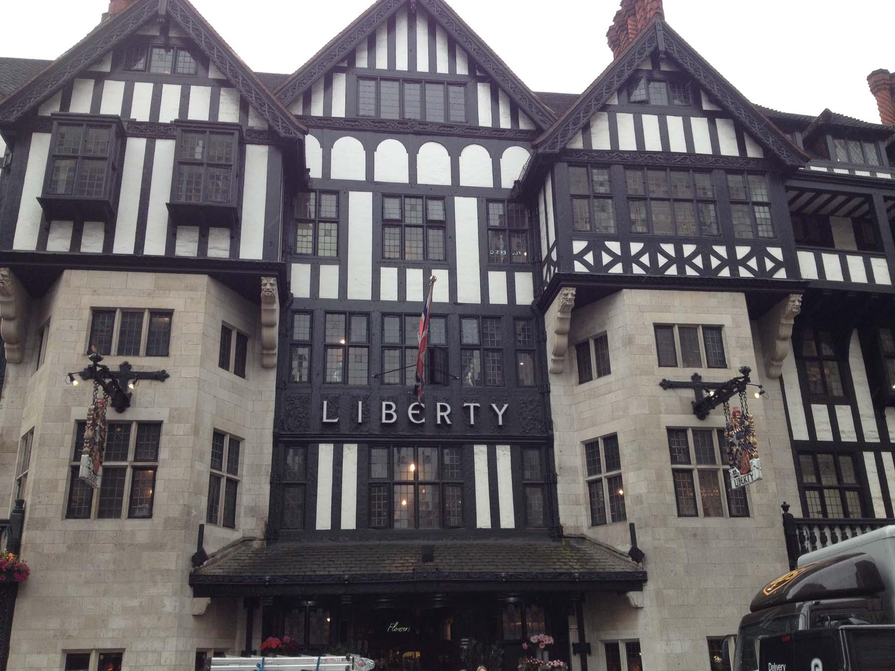Outside of Libertys