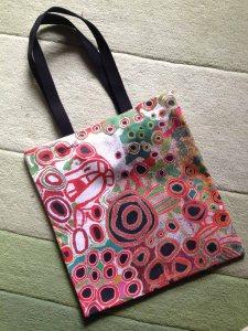 Spinifex ladies painting bag