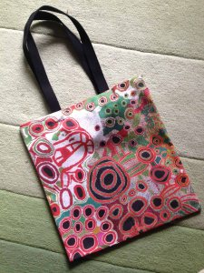 Spinifex ladies painting bag