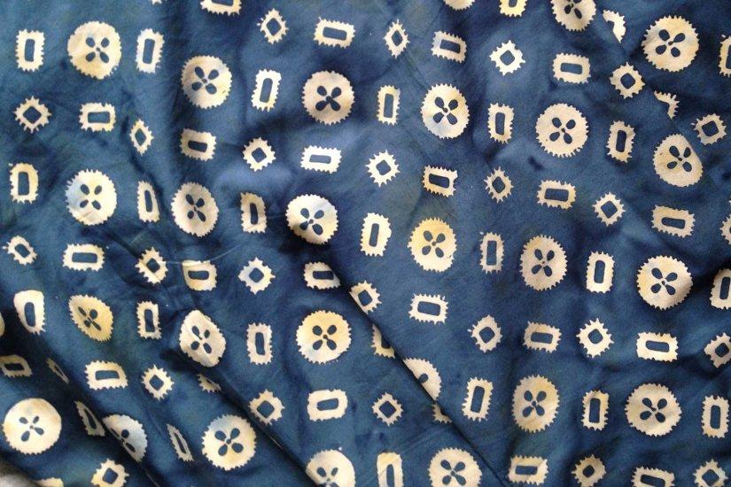 My batik dress