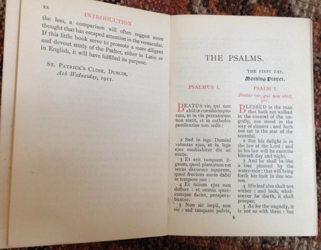Psalm 1 - Beatus vir