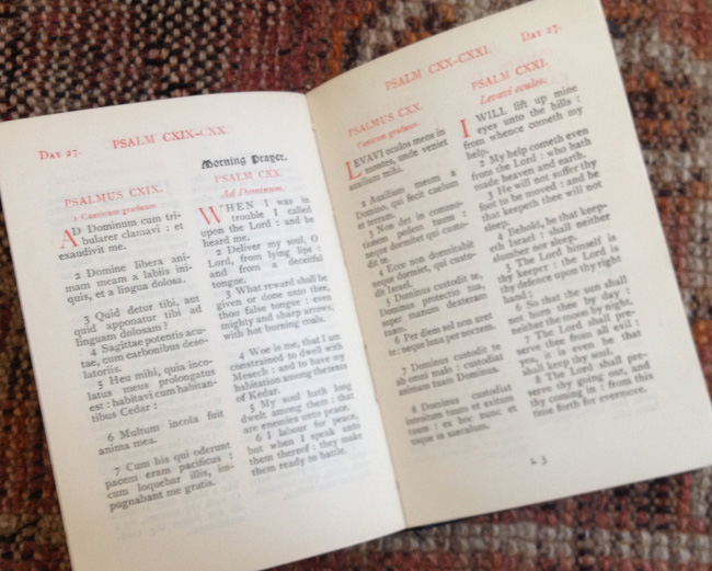 Psalms 120 and 121