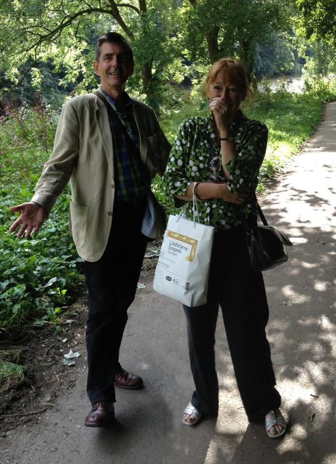 Stephen & Katherine in Durham