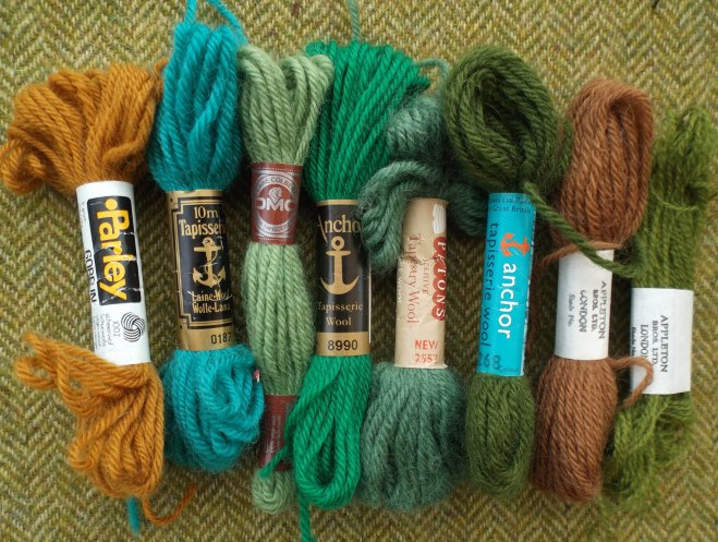 embroidery threads - different makes