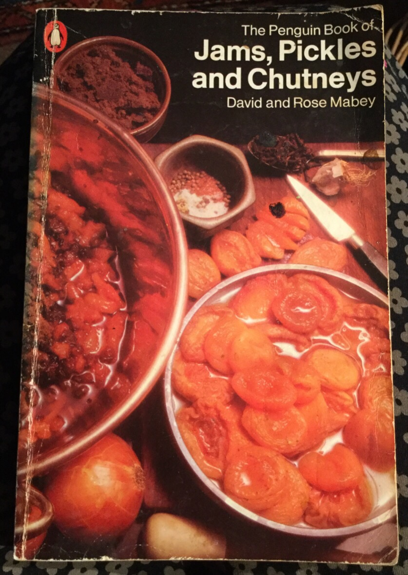 Cover of David and Rose Mabey's inspirational book: Jams, Pickles and Chutneys