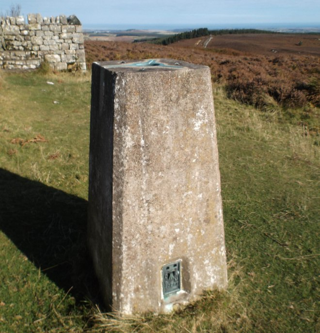 triangulation point at top