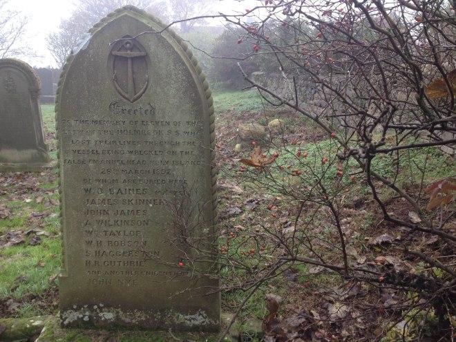 grave in churchyard