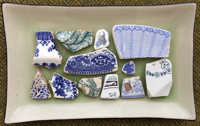 blue and white china (mostly)