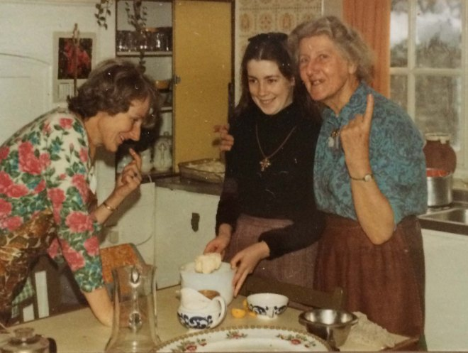 Christmas 1970 Tasting brandy butter