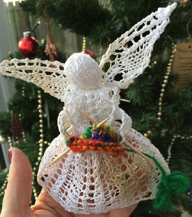 Eileen Seddon's Christmas fairy