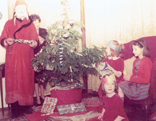 Father Christmas visit 1961