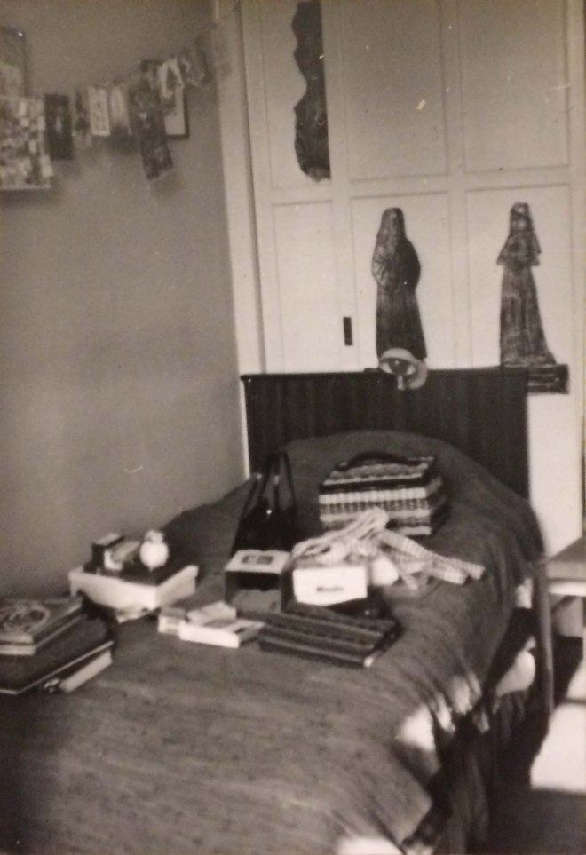 My bedroom Christmas 1966
