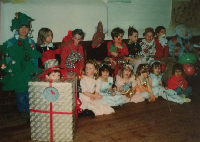Shobrooke Christmas party 1988