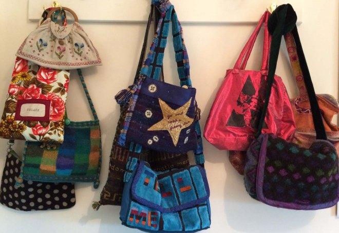 bags of fun wall display