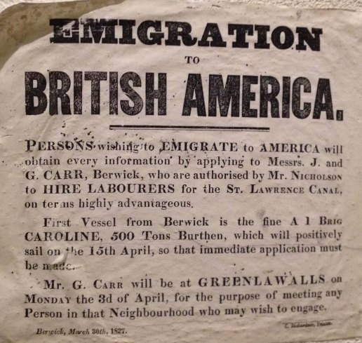 emigration notice