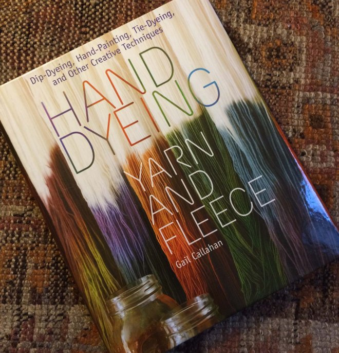 Hand dyeing book