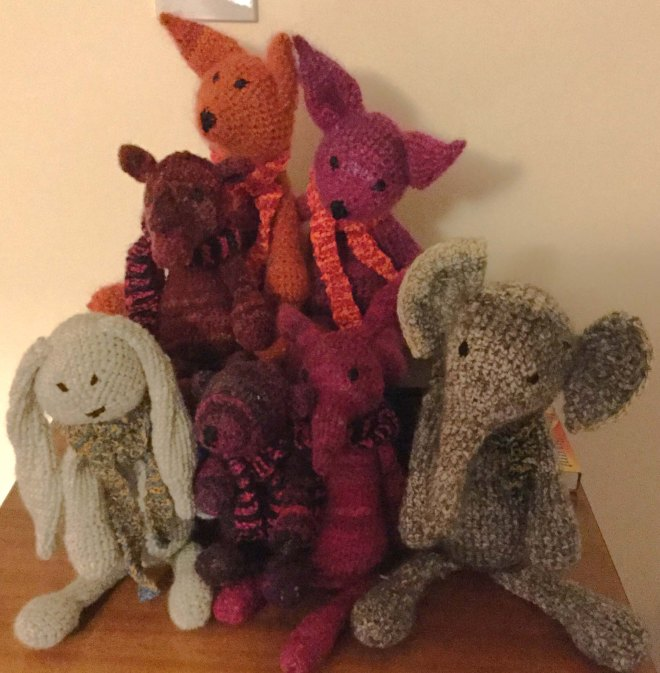Toft animal collection
