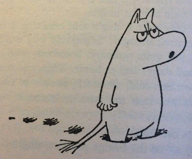 Grumpy Moomin