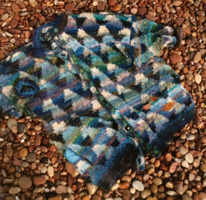 Blue sea cardigan