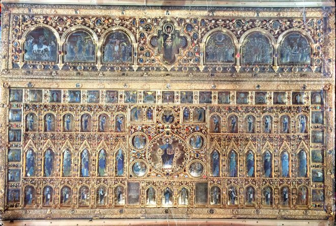 Gold altar, St Mark's, Venice