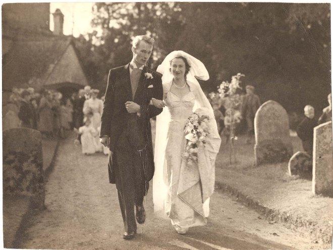 RHE & JME wedding 1952