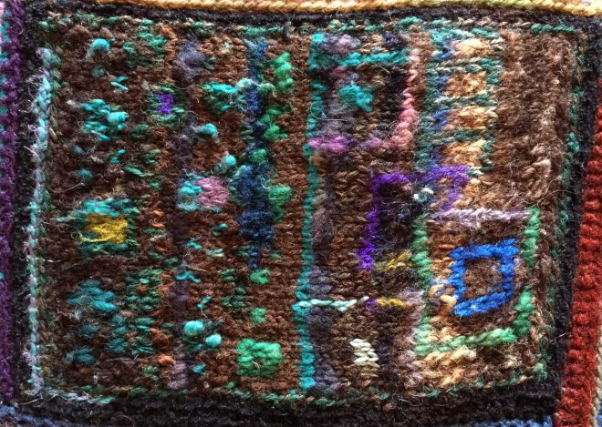 swatch for stephen's sweater