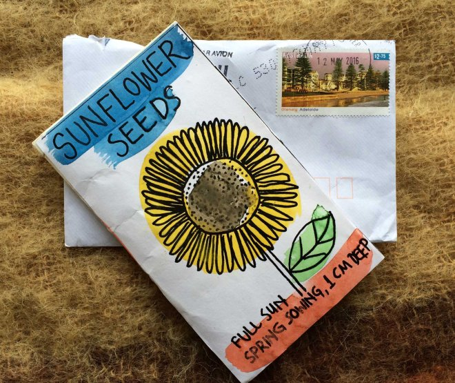 Sunflower seeds from Australia