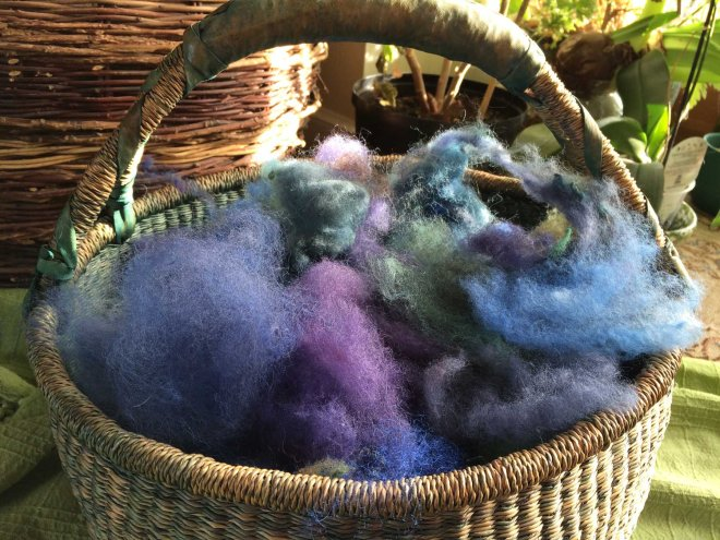 basket of fleece