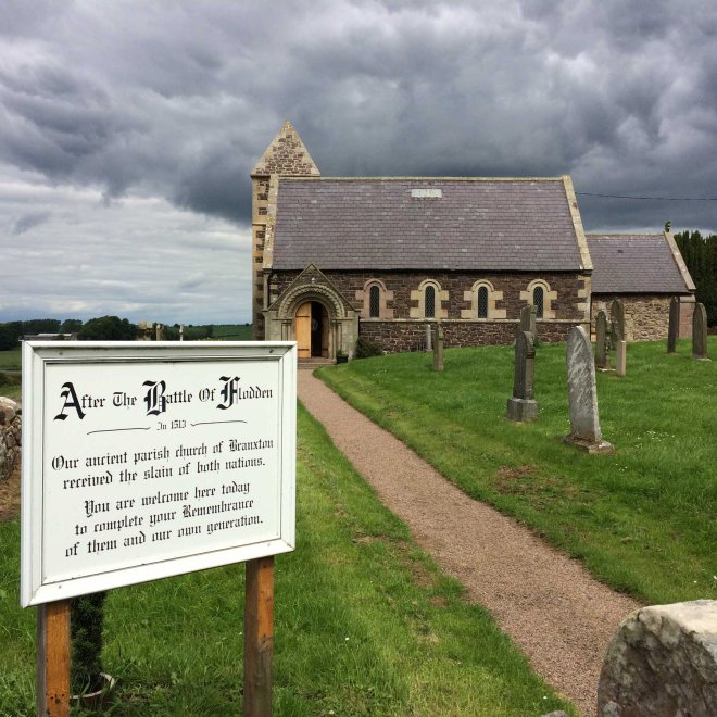 Branxton church