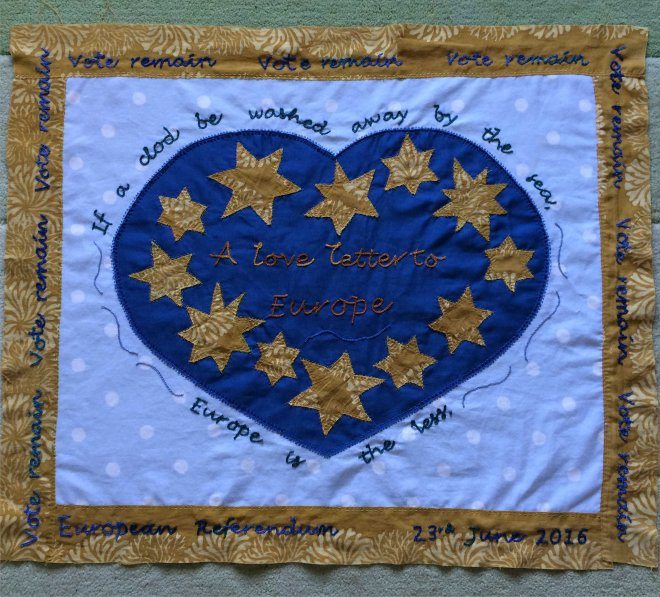 Love letter to Europe banner