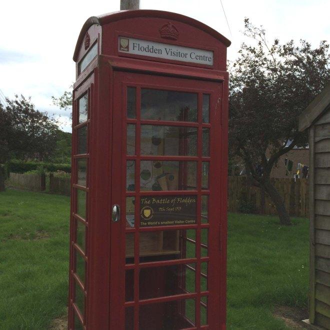 Telephone box information centre