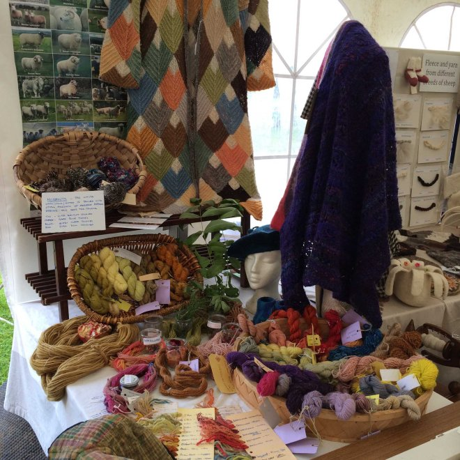Tweed Guild display